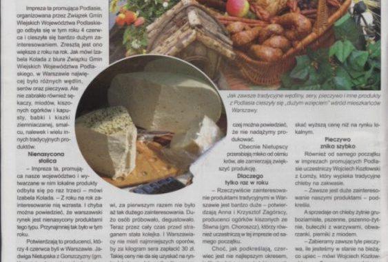 Podlaskie Agro O Imprezie Podlaskie Gminy Wiejskie W Warszawie