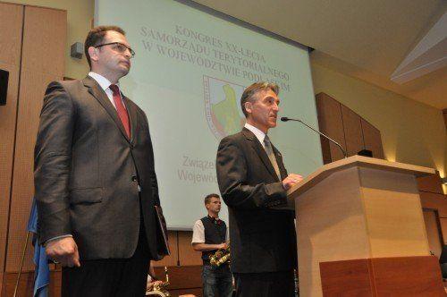 KONGRES XX-LECIA SAMORZĄDU TERYTORIALNEGO W WOJEWÓDZTWIE PODLASKIM – 18 Czerwca 2010 R.