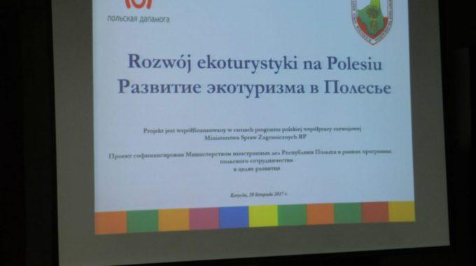 "Projekt: ""Rozwój Ekoturystyki Na Polesiu"""