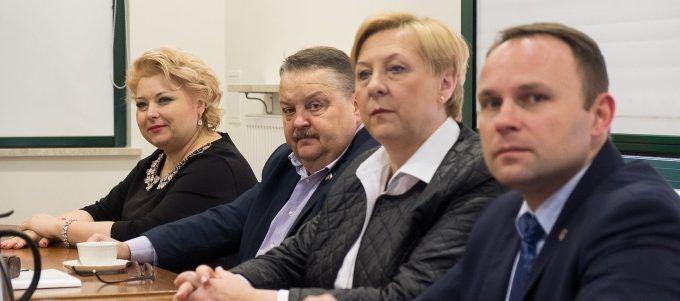 Spotkanie Zarządu ZGWWP Z Marszałkiem Województwa Podlaksiego