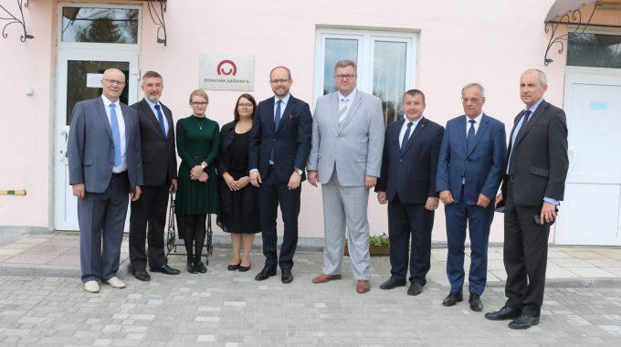 Wiceminister Marcin Przydacz Z Wizytą W Mołotkoiwczach I Grodnie