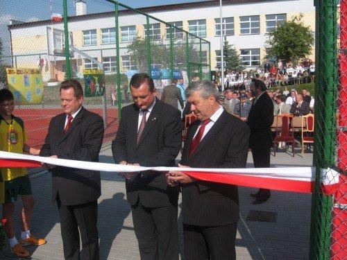 Uroczyste Otwarcie Kompleksu Dwóch Boisk Sportowych W Rutce-Tartak