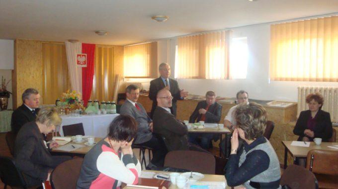 Spotkanie Zespołu Projektowego W Gródku