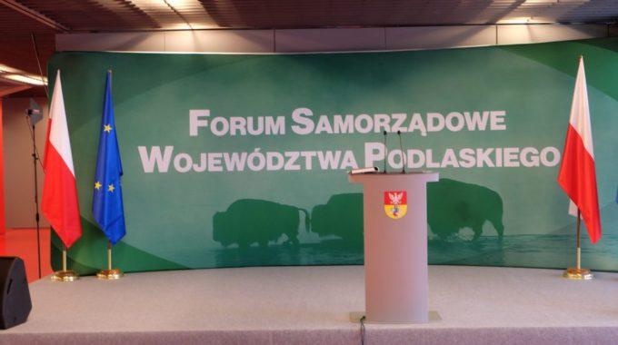 Forum Samorządowe Województwa Podlaskiego – NIC O NAS Bez NAS