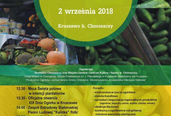 XIX Ogólnopolski Dzień Ogórka
